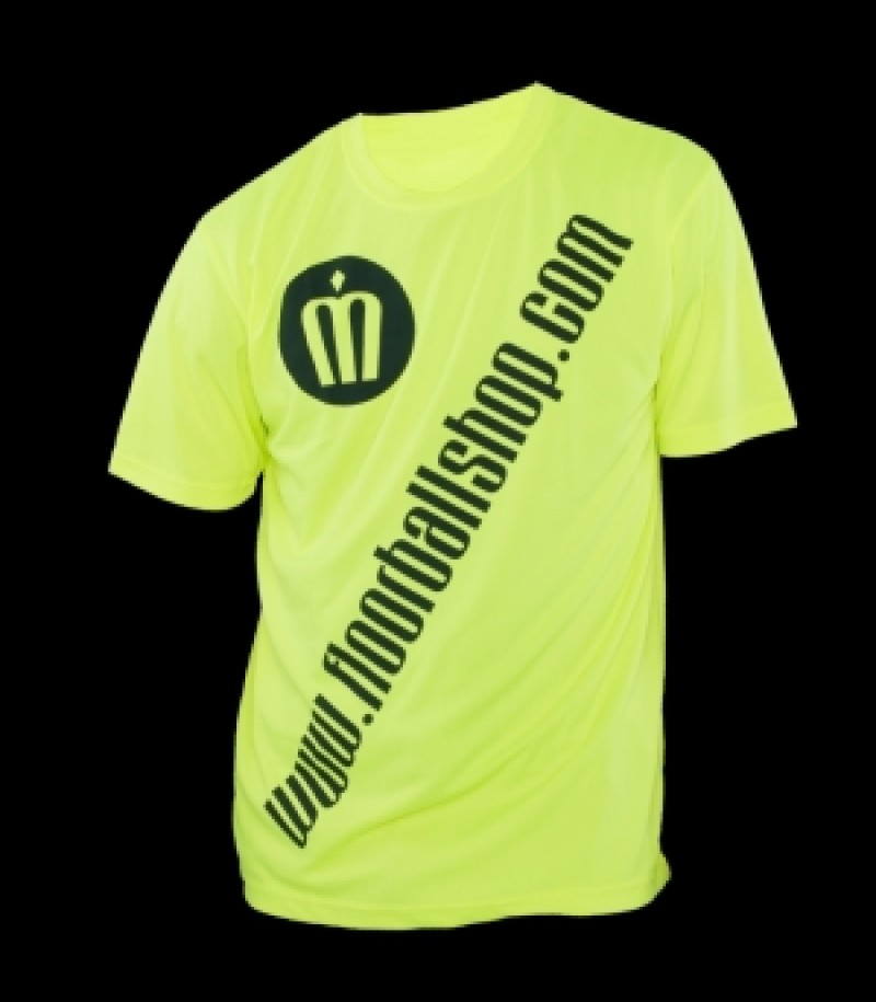 floorballshop.com Cool Jersey - Neon Yellow