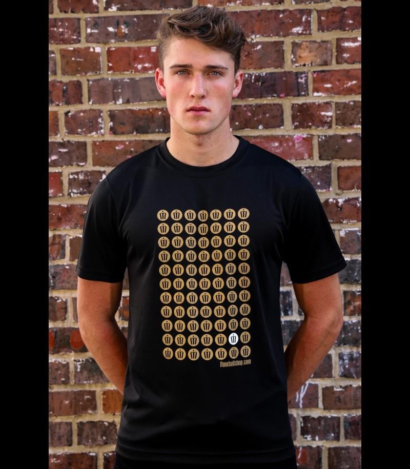 floorballshop.com Style Jersey Gold
