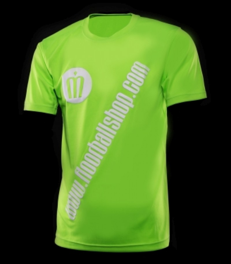 floorballshop.com Cool Jersey - Acid Green