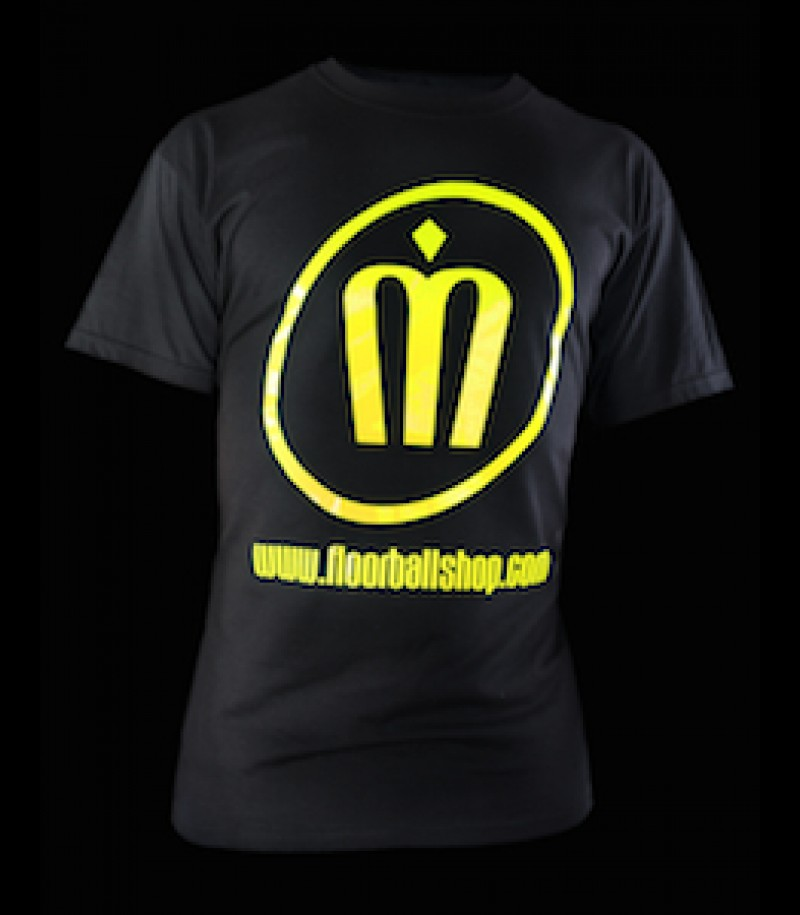 floorballshop.com T-Shirt Neon Line - Yellow