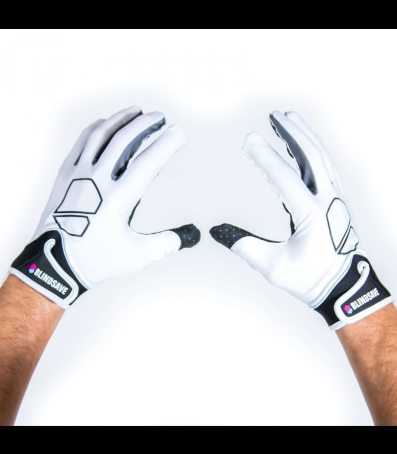 Blindsave Goalie Gloves Premium White 2019