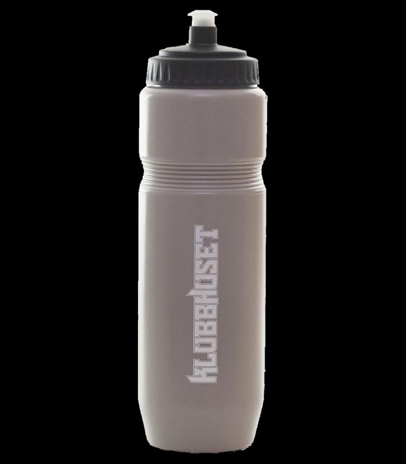 Klubbhuset Trinkflasche Grau