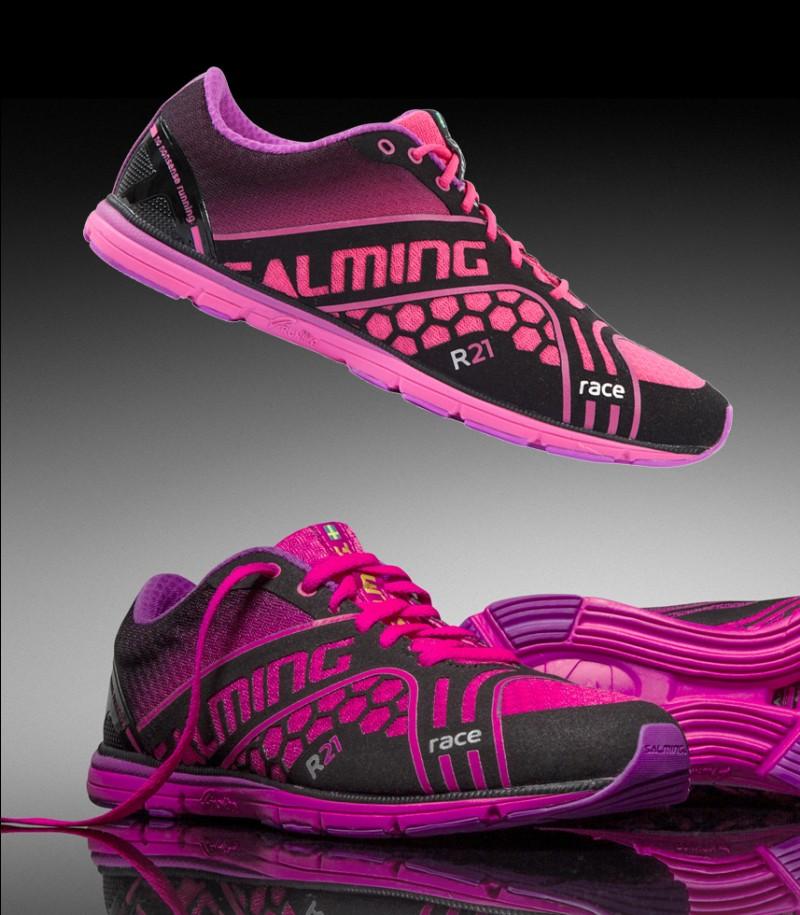 Salming Race Women Running Shoe Black/Pink