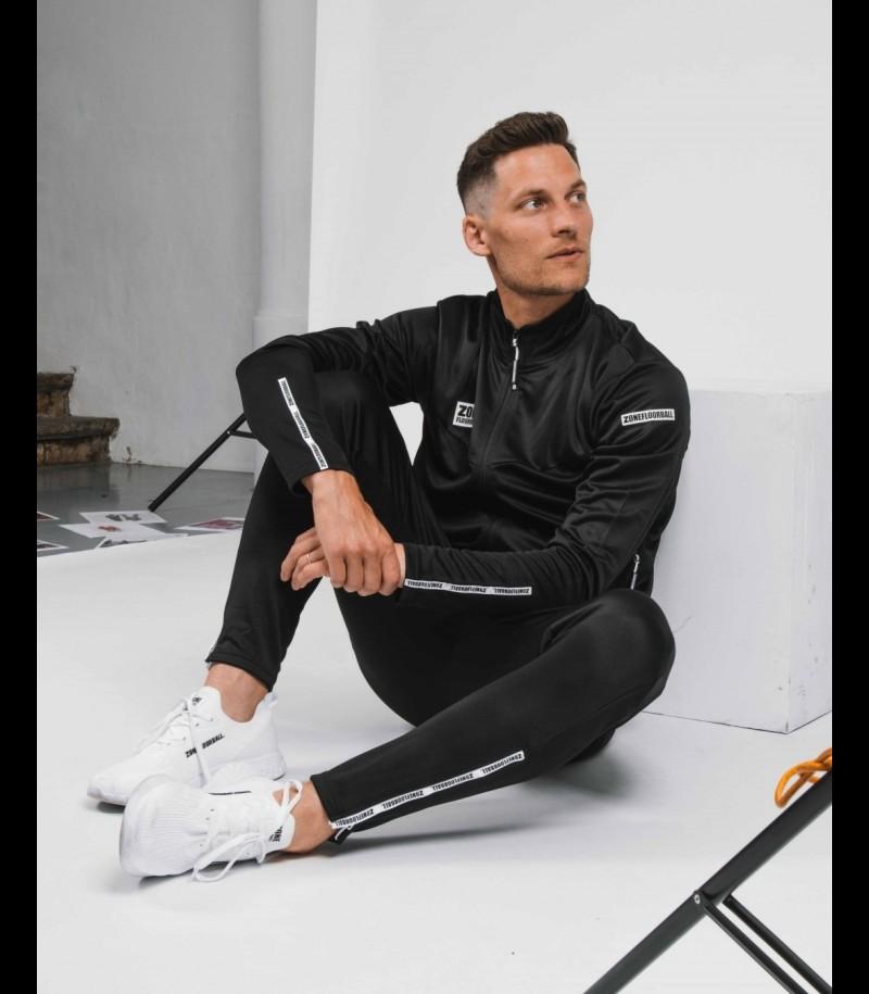 Zone Trainingsanzug Jacke Innovator Schwarz