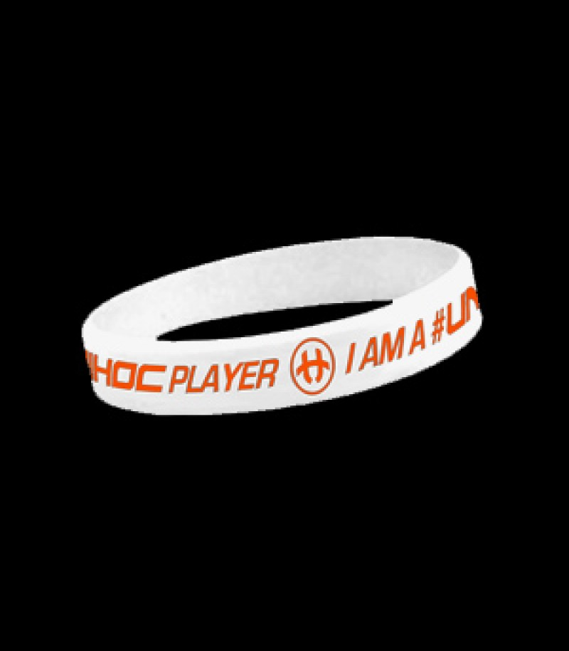 unihoc Armband Player Weiss