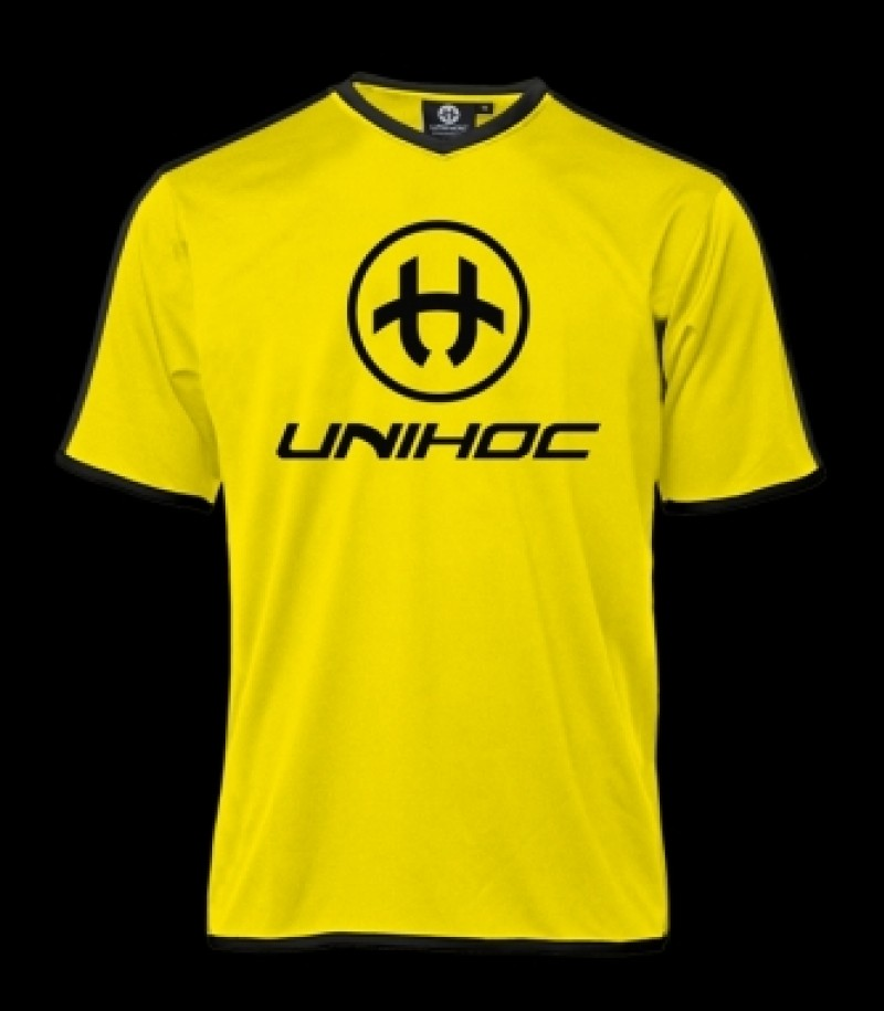 unihoc Shirt Dominate Neon Gelb