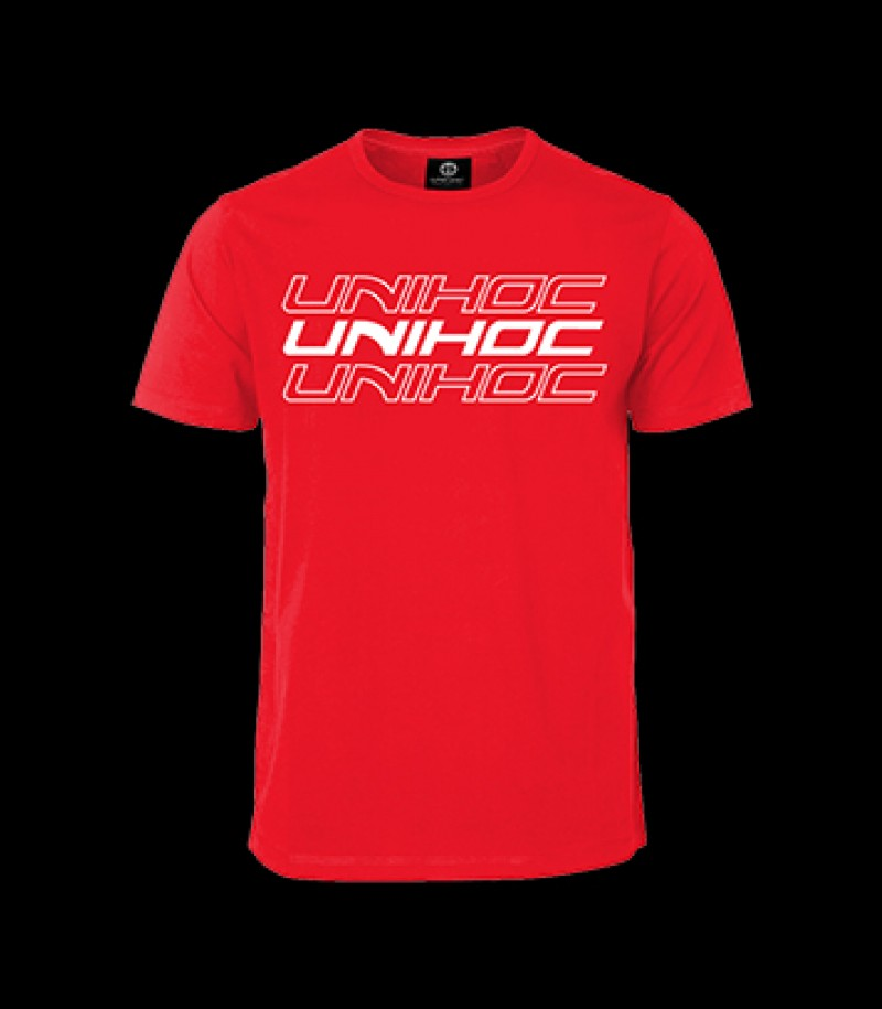 unihoc T-Shirt Triple Rot