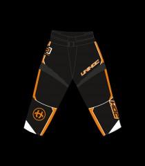unihoc Goaliehose Optima Schwarz/Orange