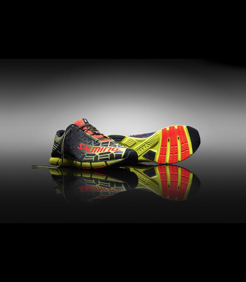 Salming Speed 6 Running Shoe Fluo Yellow/BLack