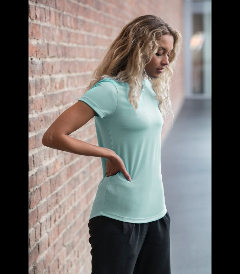 floorballshop.com Women Training Tee - Mint