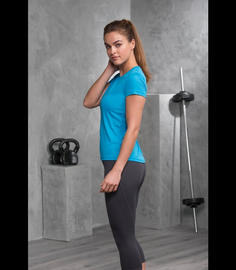 floorballshop.com Women Training Tee - Sapphire Blue