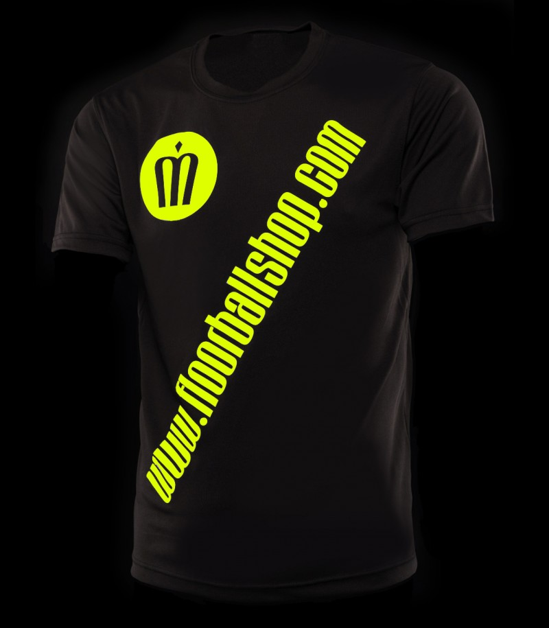floorballshop.com Cool Jersey - Black Neonyellow
