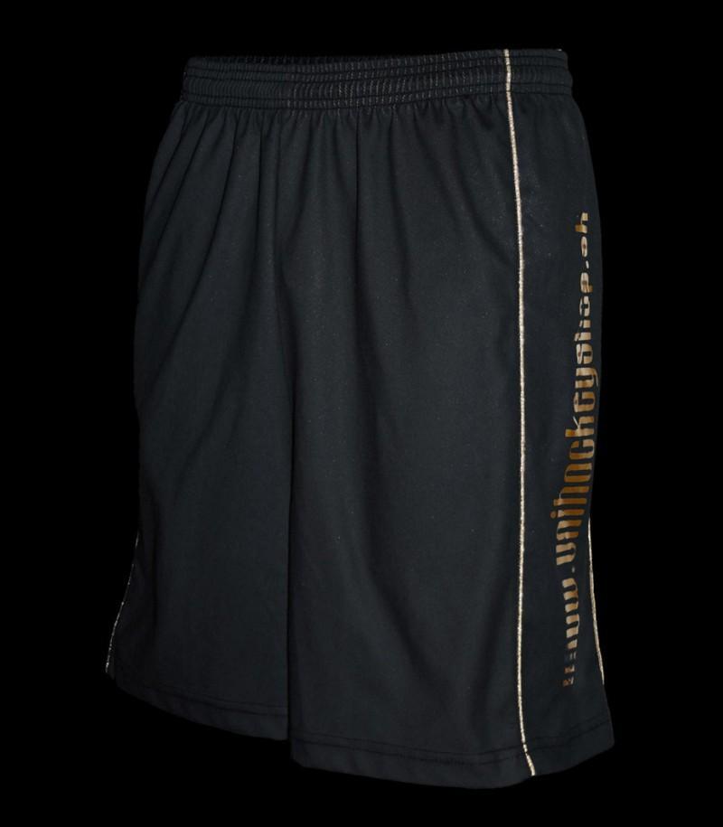 floorballshop.com Shorts exclusiv Black/Gold