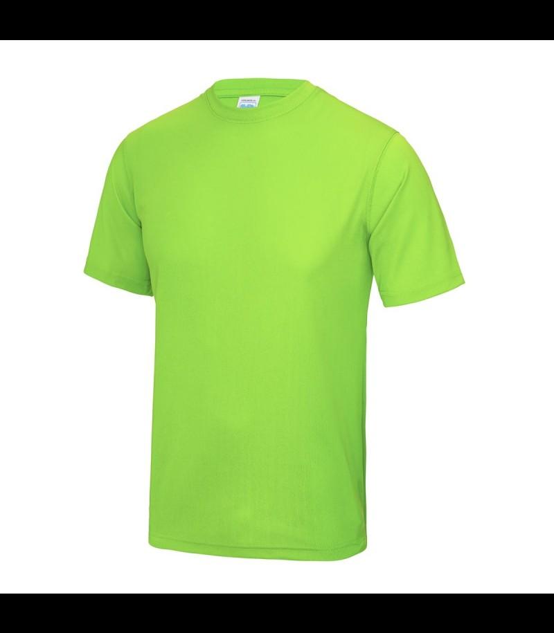 floorballshop.com Training Tee - Neon Green