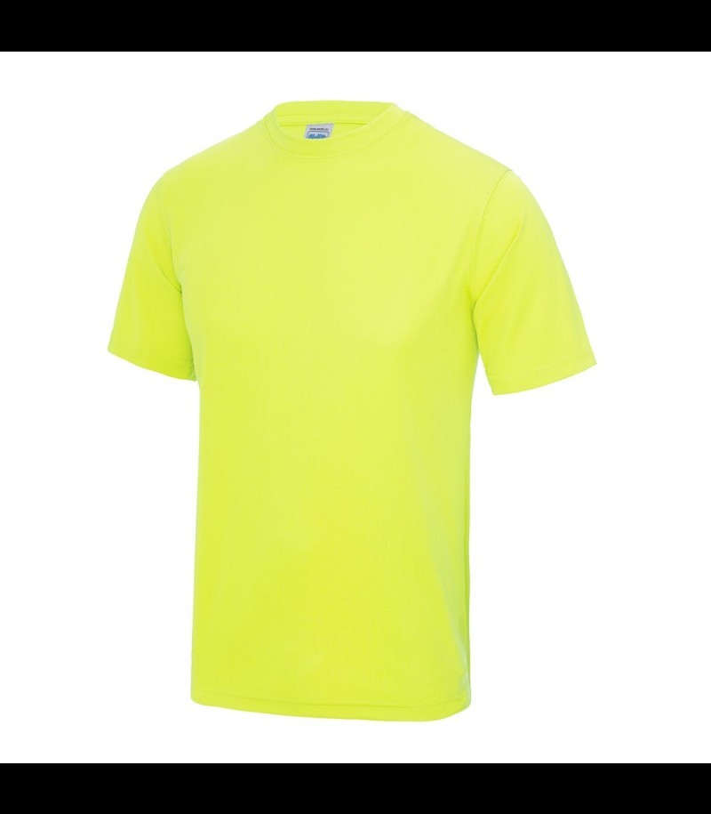 floorballshop.com Training Tee - Neon Yellow