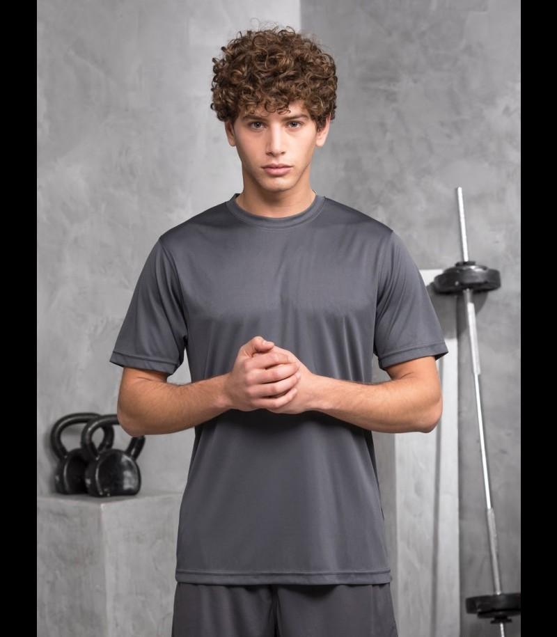 floorballshop.com Training Tee - Dark Grey